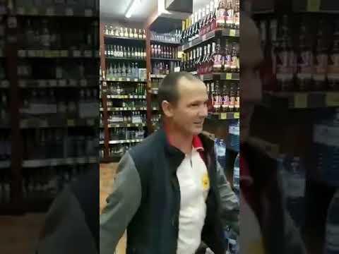 Разгромил витрины с алкоголем.«Красное & Белое» Нефтекамск.