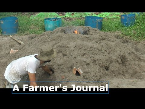 A Farmer's Journal - My rather too large Sand Kiln Experiment - Entry #2
