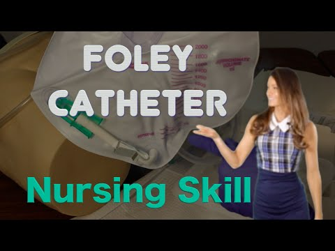 How to insert a Foley Catheter Male I Foley Catheter sterile technique