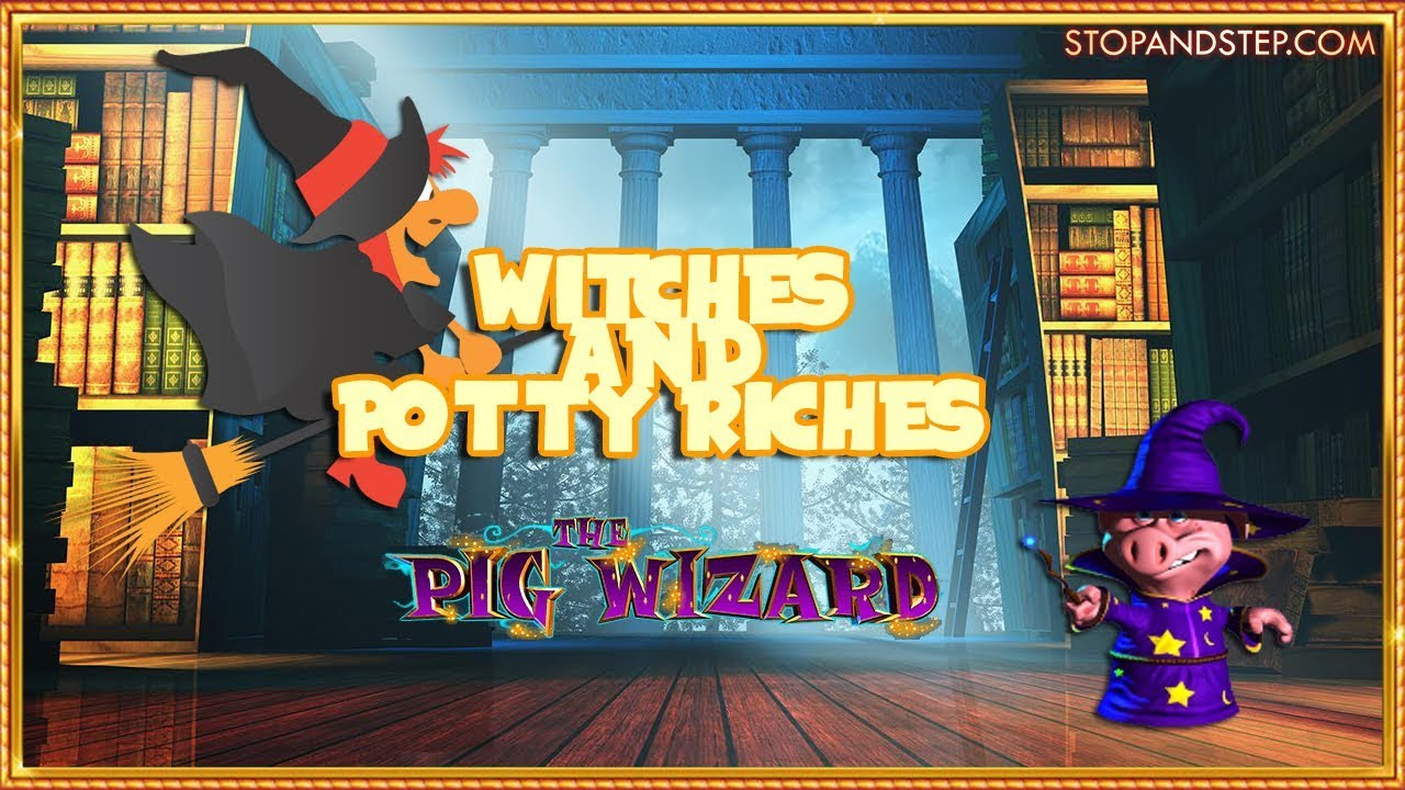 🎃 halloween slots! witches and the potty riches 🎃 - youtube
