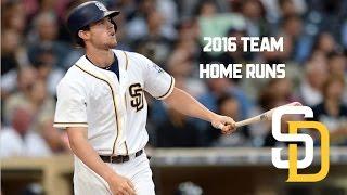 San Diego Padres | 2016 Home Runs (177)