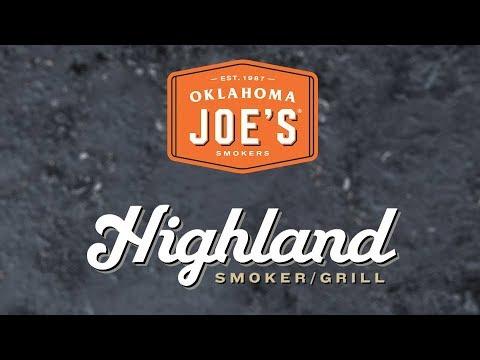 Highland Offset Smoker Grill - Product Walkthrough   Oklahoma Joe's