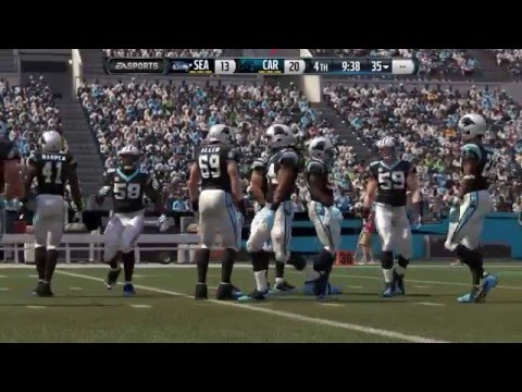 Carolina Panthers vs. Seattle Seahawks Madden 16 Simulation: Beast Mode Returns