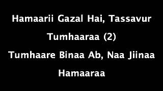 Bahut Pyar Karte Hai Karaoke m4v
