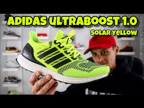 ADIDAS UltraBOOST 1.0 SOLAR YELLOW (RESTOCK On Foot Review)