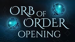 Orb of Order Opening - OH MEIN GOTT!