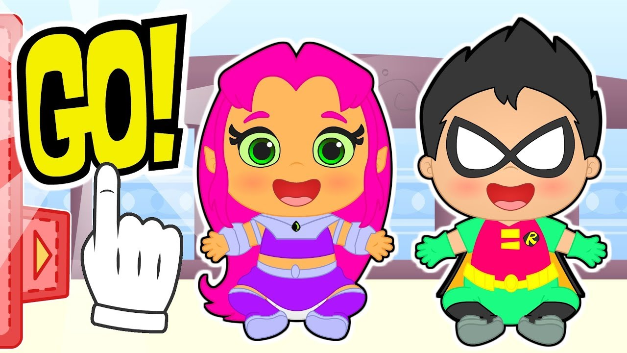 baby-alex-and-lily-dress-up-as-teen-titans-go-as-robin-and-starfire-educational-cartoons
