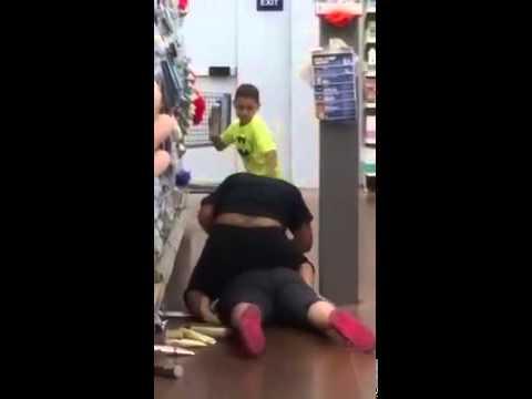 Beech Grove Walmart Fight