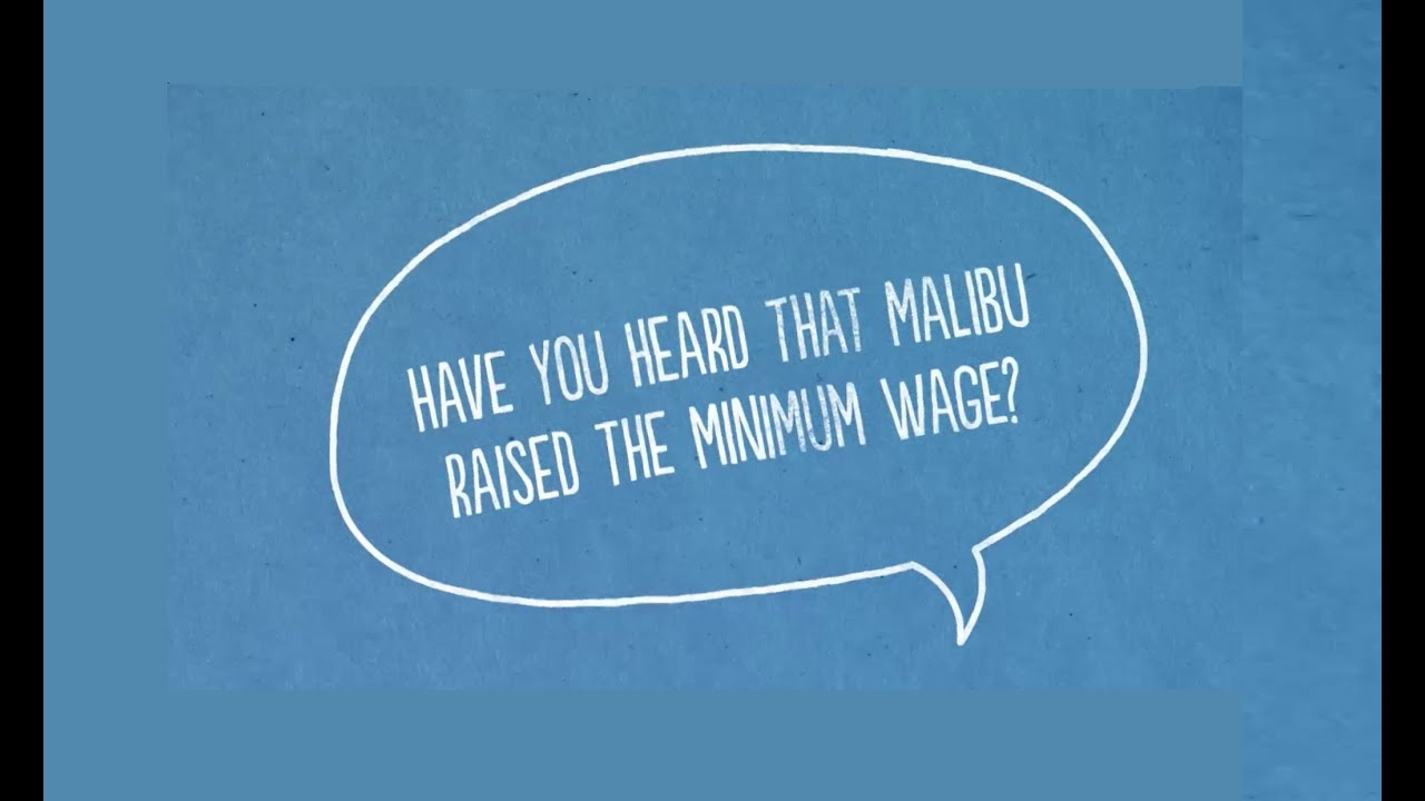 Minimum Wage | Malibu, CA - Official Website