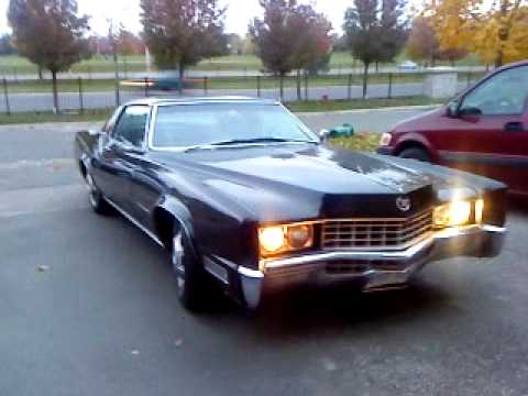cadillac eldorado 1967 running and driving off youtube. Black Bedroom Furniture Sets. Home Design Ideas