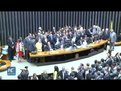 Brazil's lower house green-lights presidential impeachment