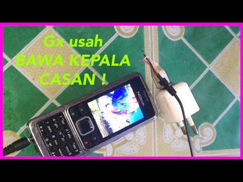 Cara Merubah Carger Nokia Ke Konektor Usb