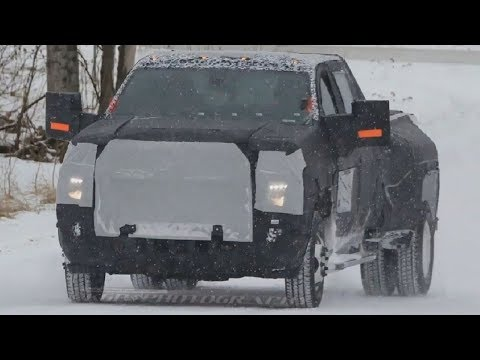 The Great!!! 2020 Chevy Silverado HD and Dually Caught in Winter Testing