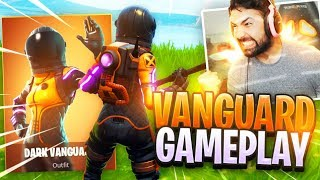 "Fortnite NOUVEAU ""DARK VANGUARD"" Skin Gameplay."