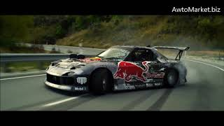 Redbull Team Mazda Rx8 Mad Mike Drifting One By One GG Magree Music Awtomarket