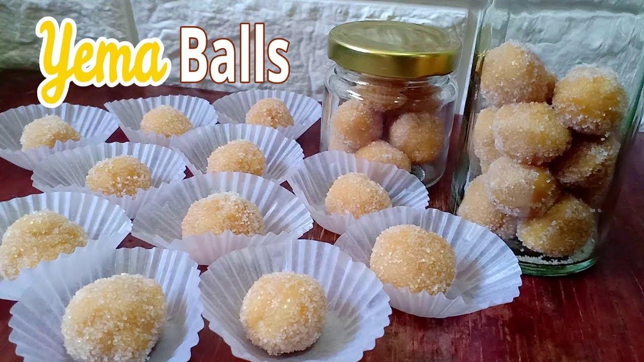 Yema Balls  How to Make Yema  Negosyo Recipe