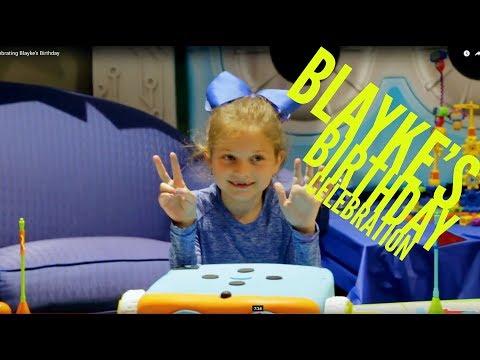 Blayke's Super Cool Birthday Celebration
