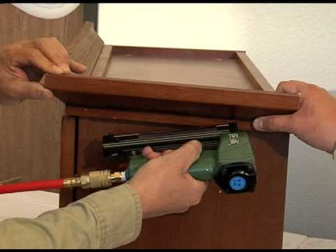 Crown Molding Installation Instruction YouTube - How to install crown molding on kitchen cabinets