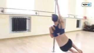 Pole Dance в Витебске. Шоу на пилоне(PoleDance – это танец, где исполнитель выступает на одном или двух пилонах (шестах), сочетая элементы хореографи..., 2012-10-05T09:08:48.000Z)