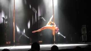 Manon Agard Compétition Francaise de Pole Dance 2014