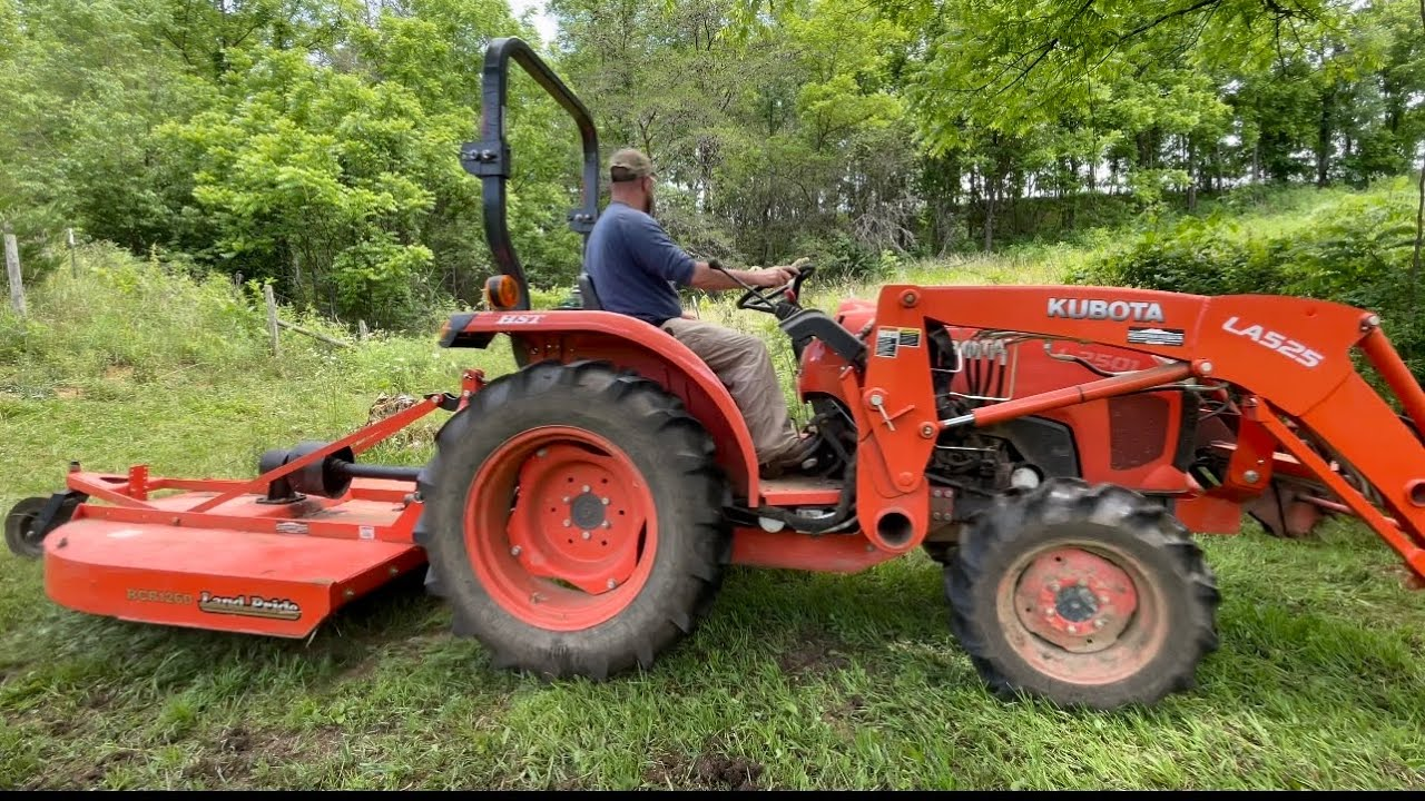 Essential Tractor Implement! ( Cleaning up the Pasture)