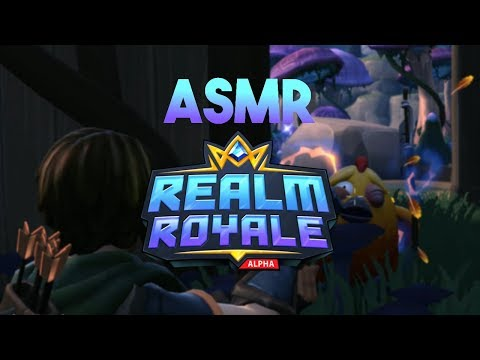 ASMR Gaming: Realm Royale First Impressions (Gum Chewing)