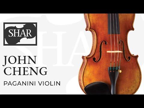John Cheng Paganini Violin