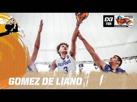 Gomez de Liano  (PHI) - Player of the Day - FIBA 3x3 U18 World Cup 2017