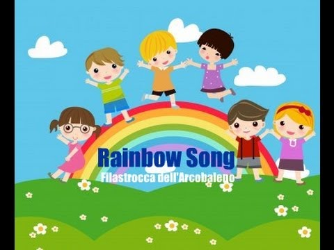 Canzoncina dell'arcobaleno | Rainbow song - Inglese per bambini