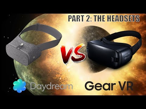 Daydream vs. Gear VR - The Big Comparison Part 2: The Headsets