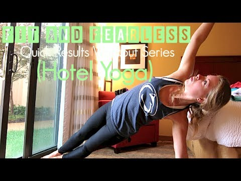 Quick Results Workout: Hotel Room Yoga