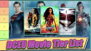 DCEU Tier List (All 9 Movies Ranked with Wonder Woman 1984)