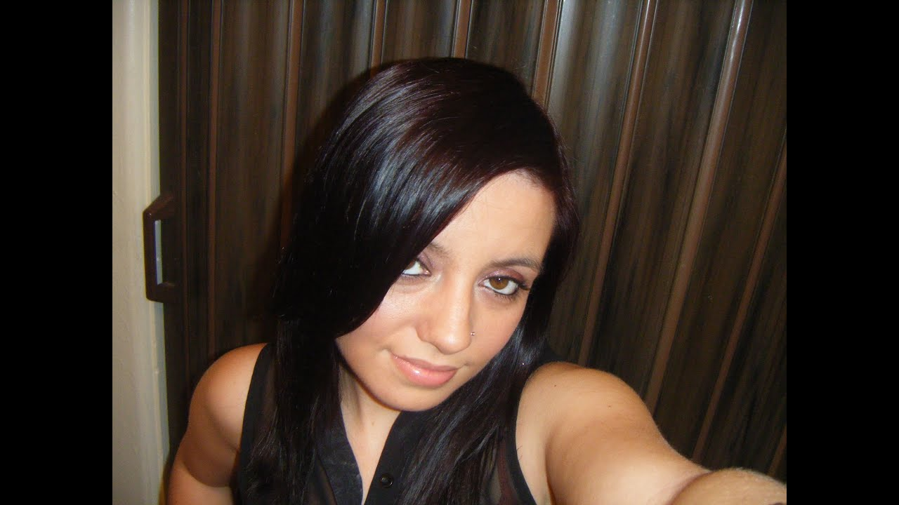 john frieda foam color in deep cherry brown youtube - Hair Color Black Cherry