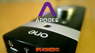 ENGLISH: Unboxing, review and recording with Apogee ONE using Garag...