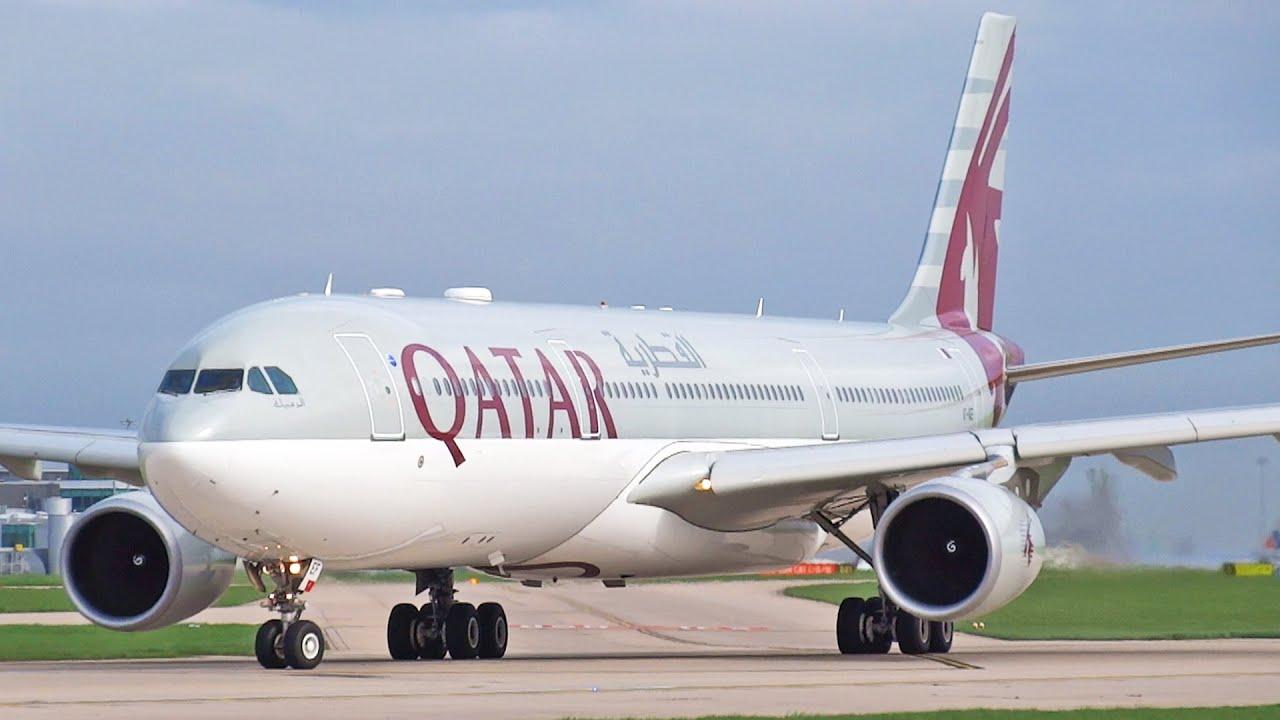 Qatar and Etihad Airways Airbus A330 Take Off's at ...  Qatar and Etiha...