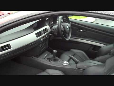 2007 Bmw M3 E92 Coupe Manual 6 Speed Interior Youtube