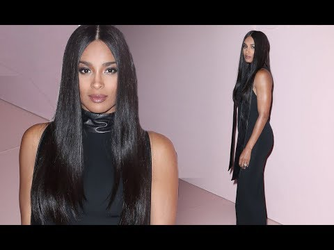 Ciara Makes Her First Post-Baby Appearance at Tom Ford Fashion Show