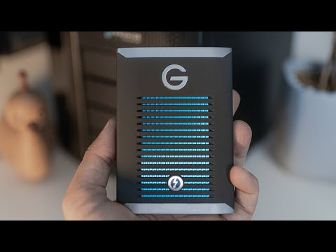 G-Technology 1TB G-DRIVE mobile Pro SSD | The Best 4K Editing Drive