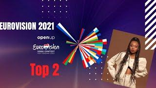 Eurovision 2021 - Top 2 🇦🇱🇮🇱 (26/01/2021)