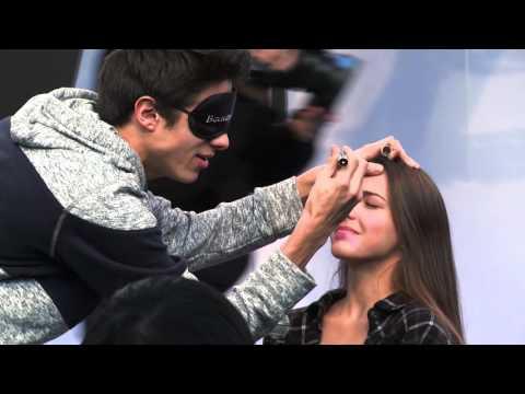 Blind Alien Make Up Challenge (w/ Lexi)   Brent Rivera
