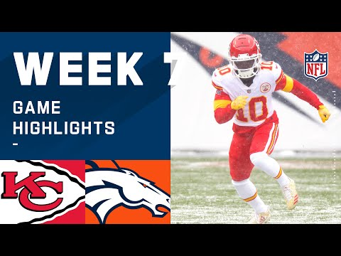 Chiefs vs. Broncos Week 7 Highlights | NFL 2020