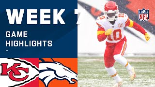 Chiefs vs. Broncos Week 7 Highlights | NFL 2020