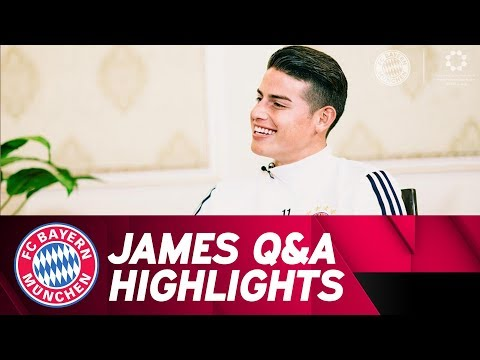 Get Up Close and Personal with James Rodríguez in FC Bayern Fan Q&A!
