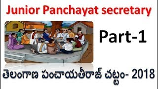 Panchayat Secretary Part-1 for all Candidates From TSPRE  must watch now by SRINIVAS Mech