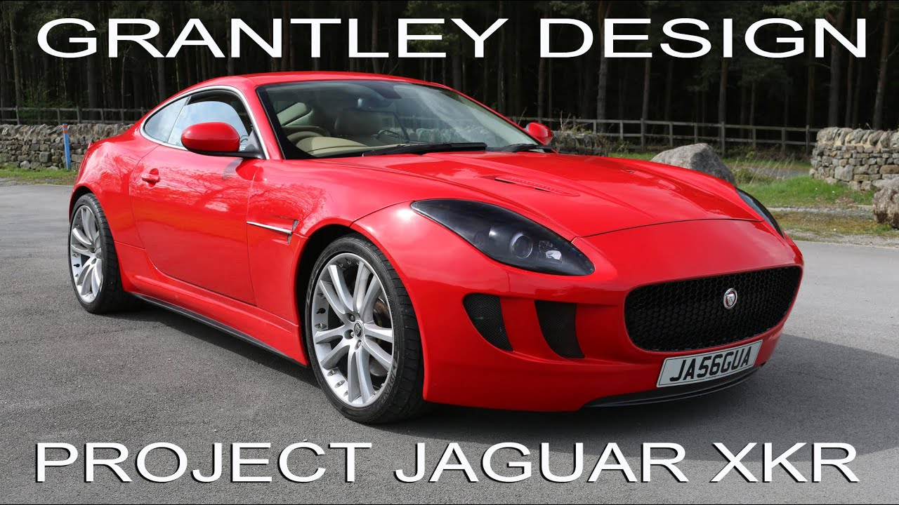 Jaguar XKR Super Car Styling. By Grantley Design. 2006 To 2014 Jaguar XKR    YouTube