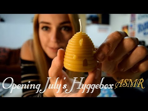 Opening July's Hyggebox ASMR