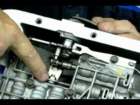 Ford c6 kickdown linkage adjustment