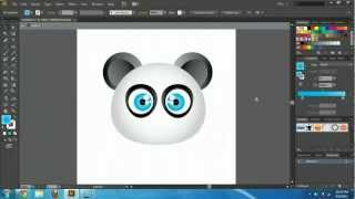 Illustrator CS6 & CC - Create Cartoon Characters Tutorial