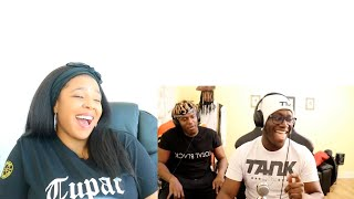 """KSI """"ONE QUESTION GO"""" WITH BROTHER DEJI   Reaction"""