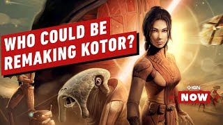 Which EA Studio Could Possibly Remake Star Wars: Knights of the Old Republic? - IGN Now